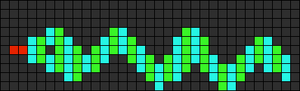Alpha pattern #5668