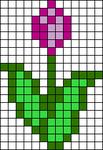 Alpha pattern #5670