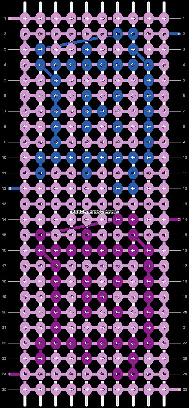 Alpha pattern #5676 pattern