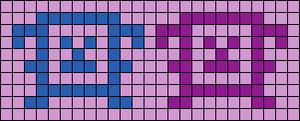 Alpha pattern #5676