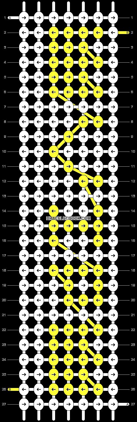 Alpha pattern #5680 pattern