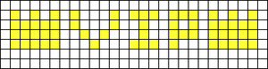Alpha pattern #5680