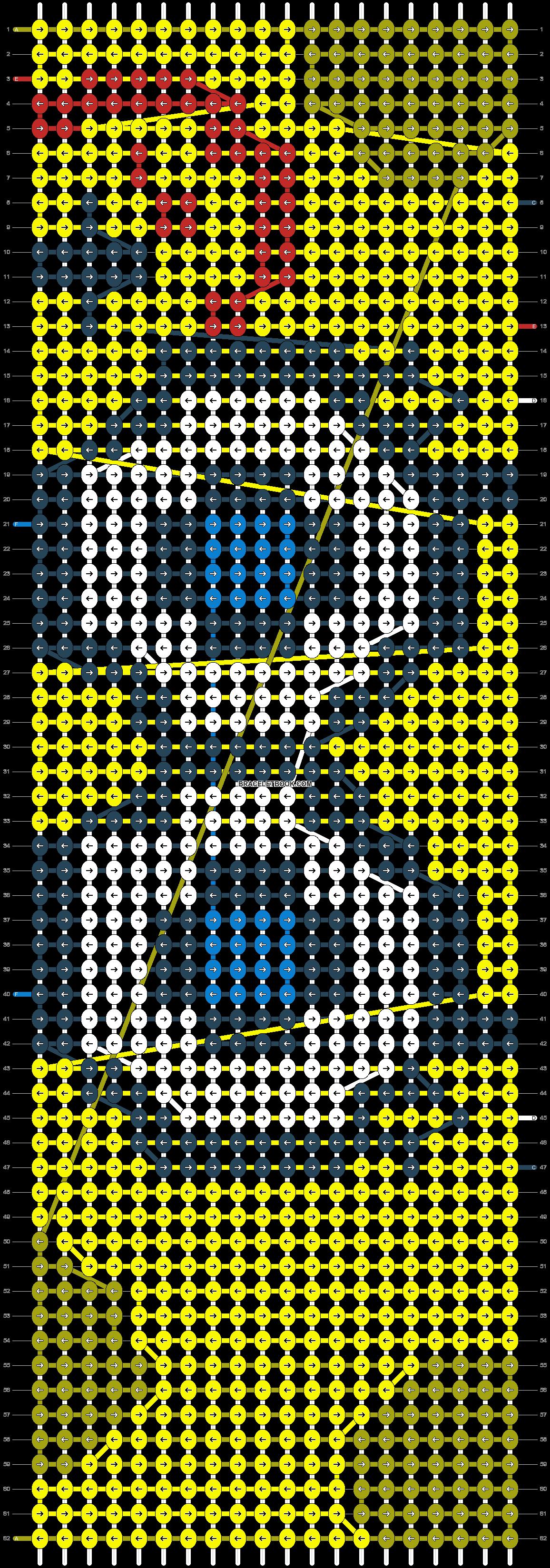 Alpha pattern #5683 pattern