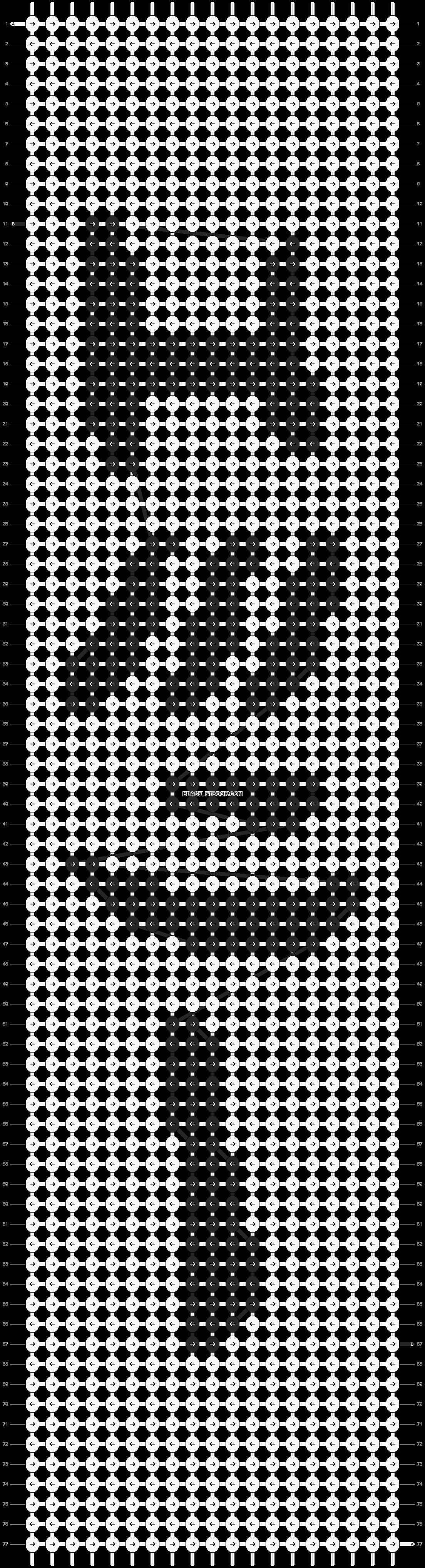 Alpha pattern #5692 pattern
