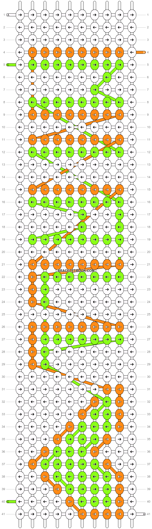 Alpha pattern #5693 pattern
