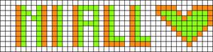 Alpha pattern #5693