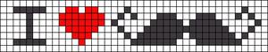 Alpha pattern #5697