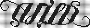 Alpha pattern #5699