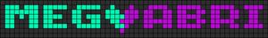 Alpha pattern #5700