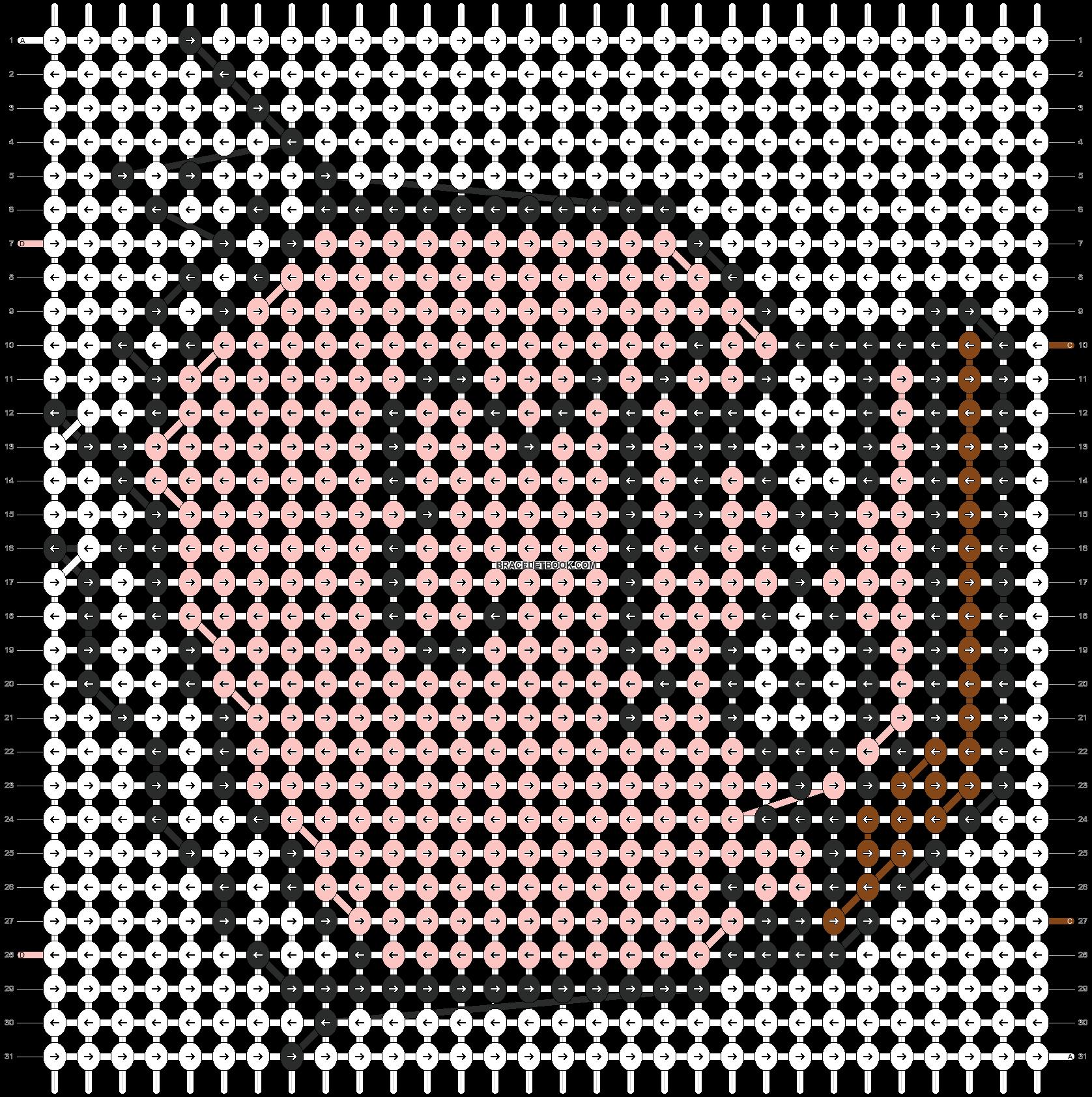 Alpha pattern #5707 pattern