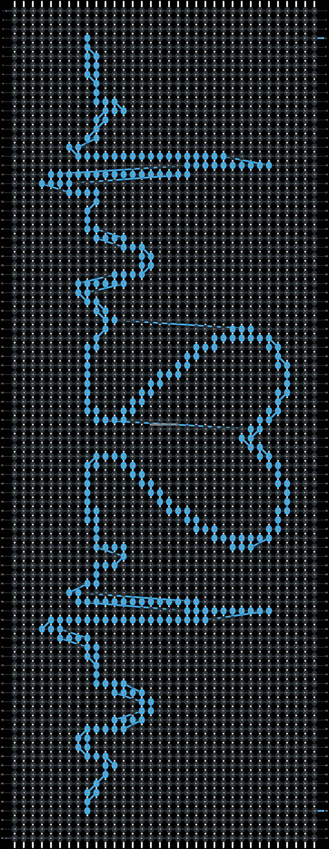 Alpha pattern #5708 pattern