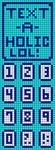 Alpha pattern #5709