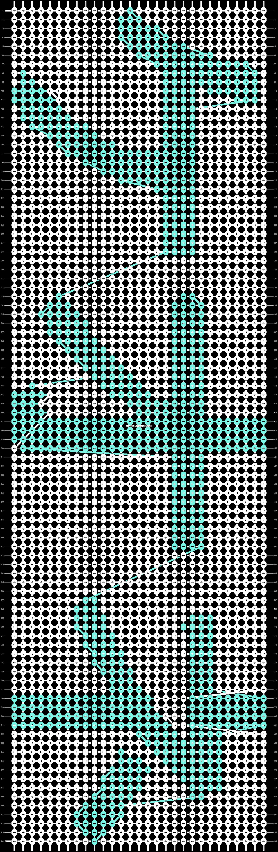 Alpha pattern #5712 pattern