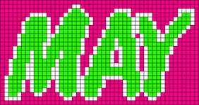 Alpha pattern #5720