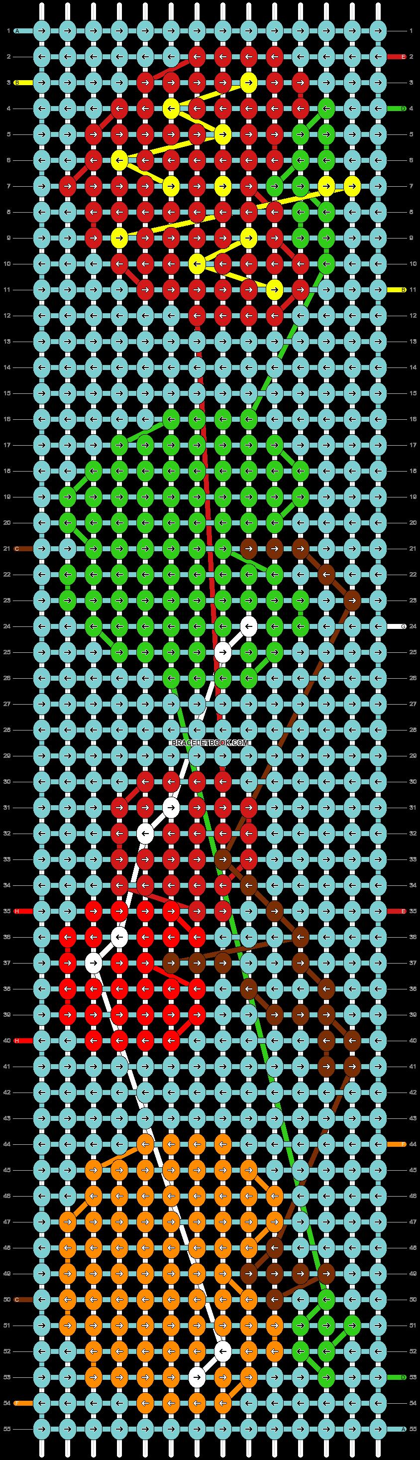 Alpha pattern #5729 pattern