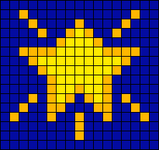 Alpha pattern #5730