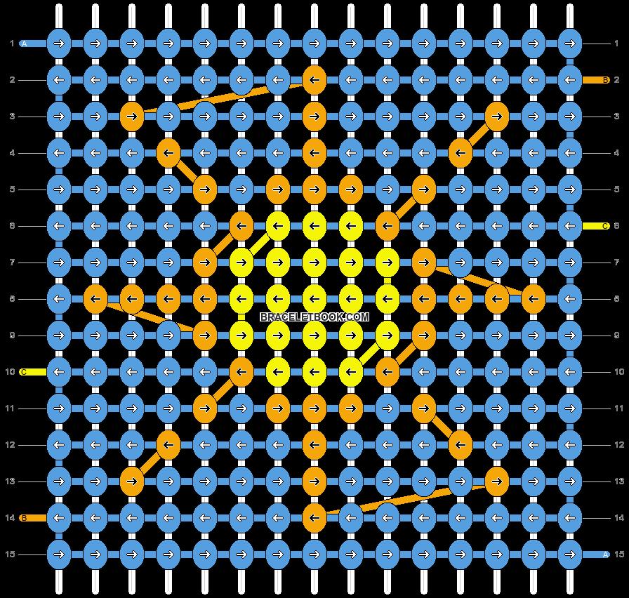Alpha pattern #5732 pattern