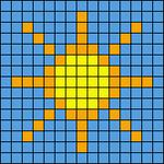 Alpha pattern #5732