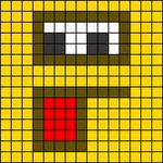 Alpha pattern #5733