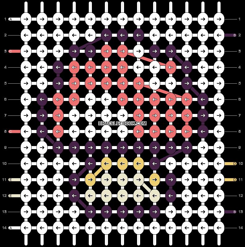 Alpha pattern #5735 pattern