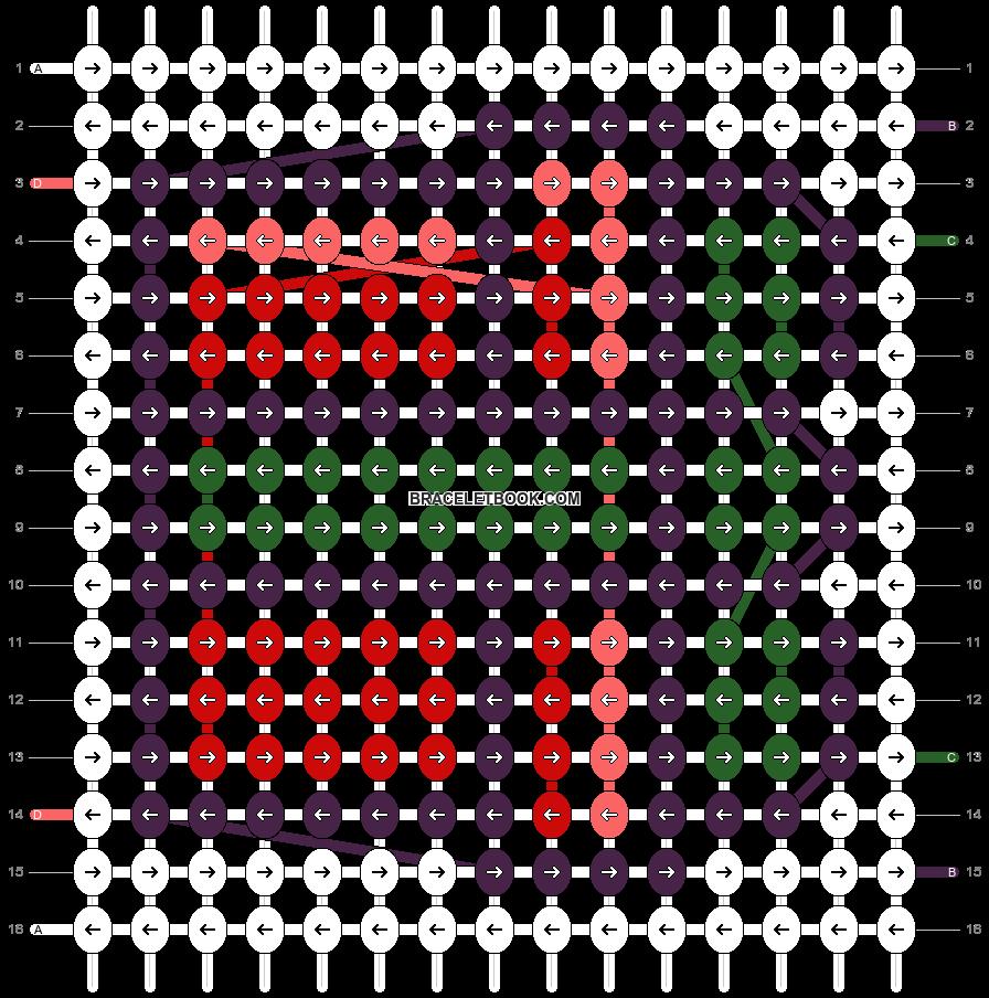 Alpha pattern #5736 pattern