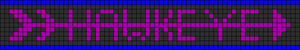 Alpha pattern #5742