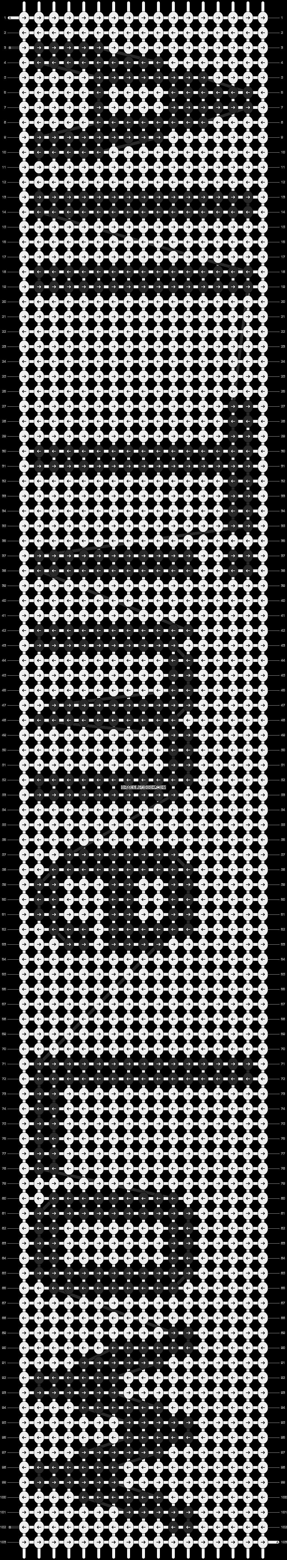 Alpha pattern #5747 pattern