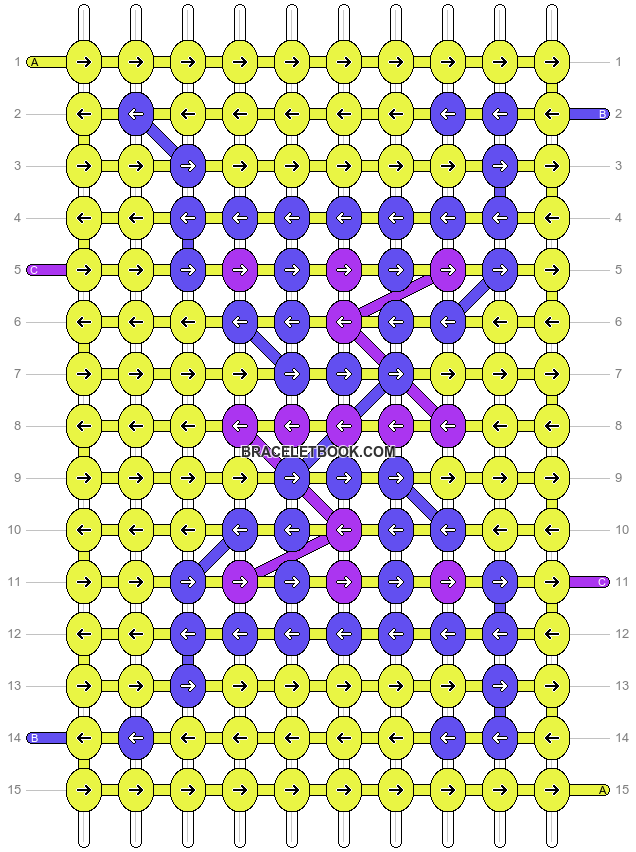 Alpha pattern #5751 pattern