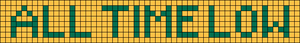 Alpha Friendship Bracelet Pattern #5755