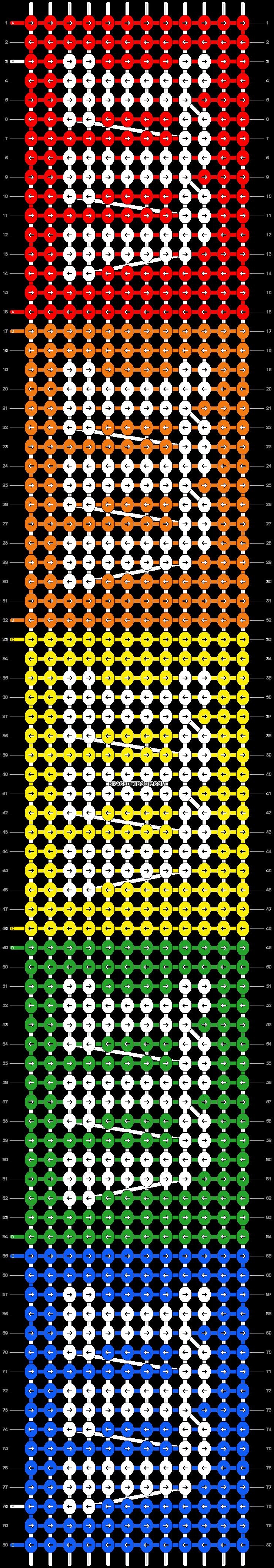 Alpha pattern #5759 pattern