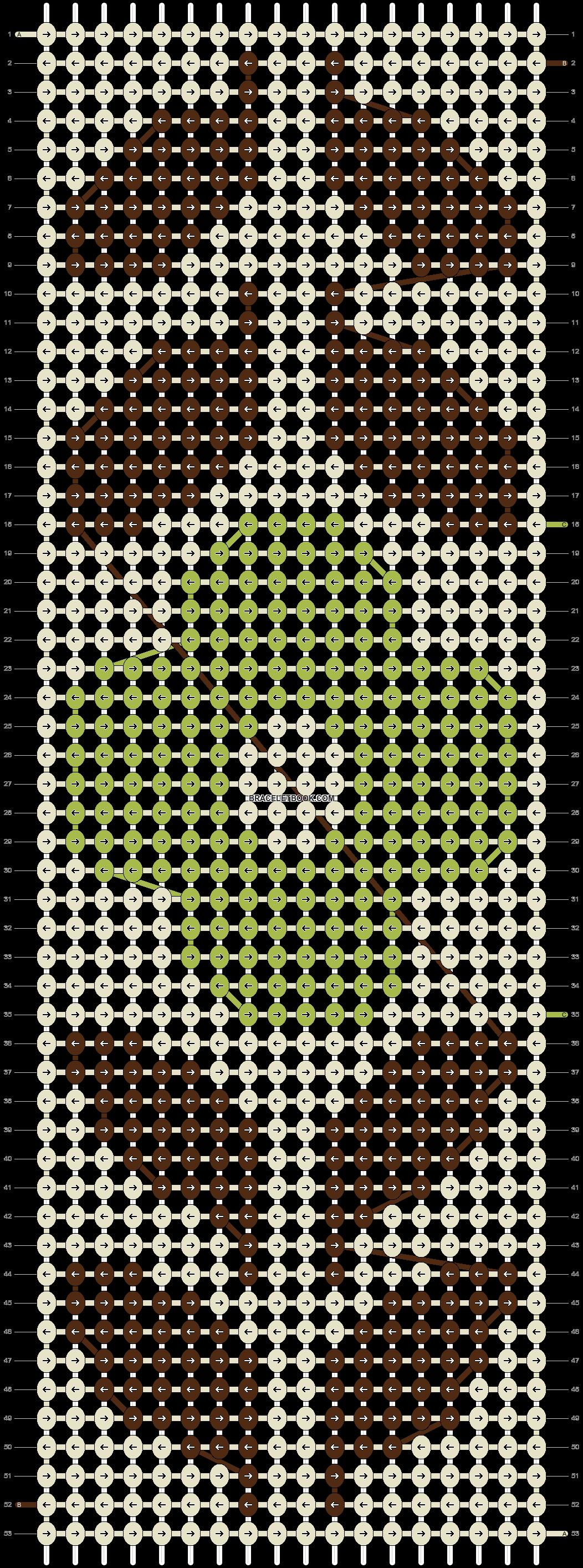 Alpha pattern #5762 pattern