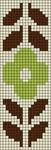 Alpha pattern #5762