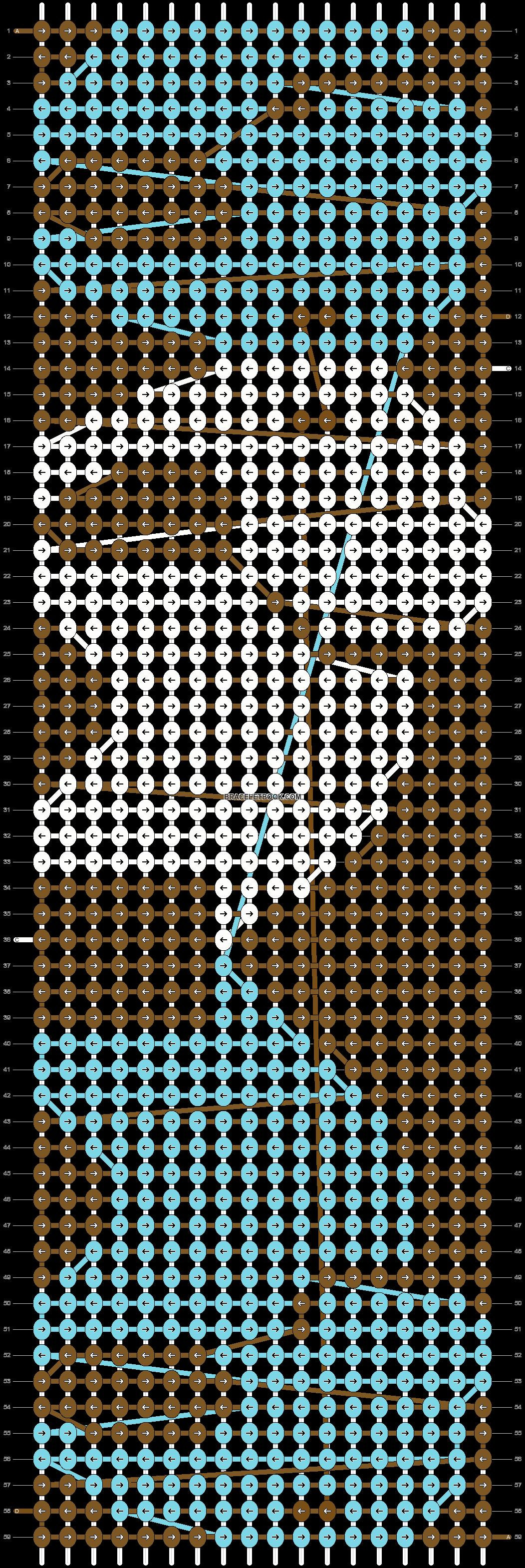 Alpha pattern #5763 pattern