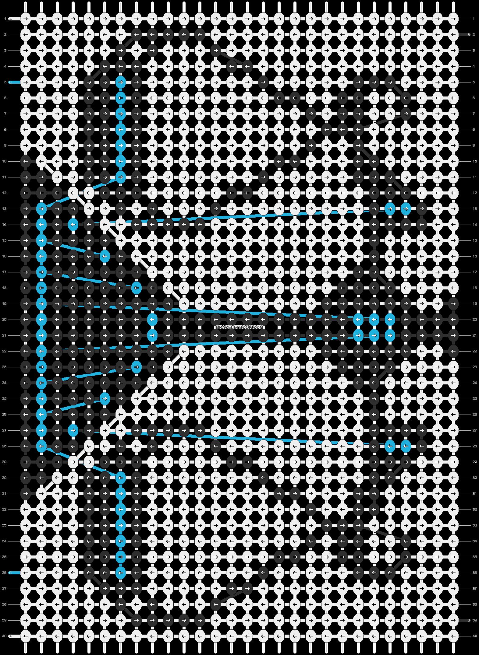 Alpha pattern #5764 pattern