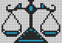 Alpha pattern #5764