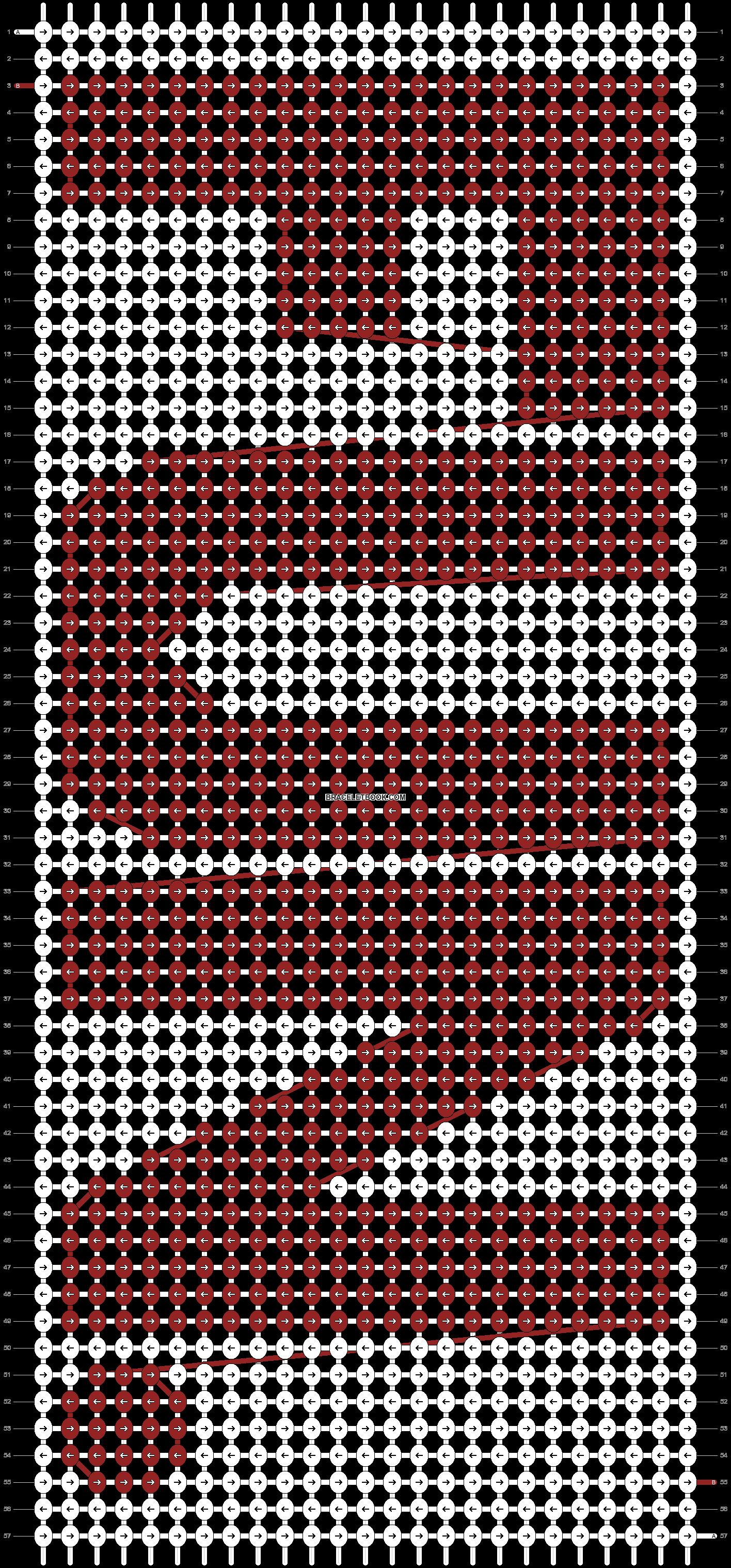 Alpha pattern #5768 pattern