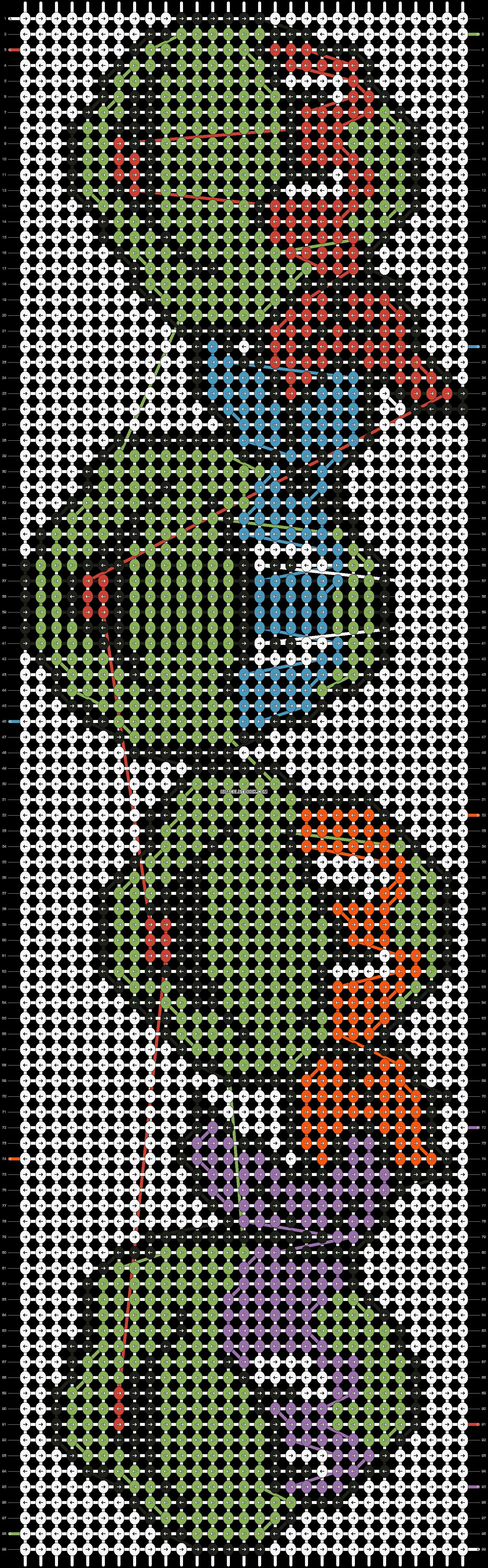 Alpha pattern #5772 pattern