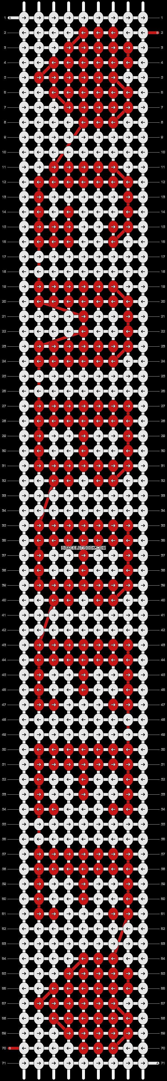 Alpha pattern #5775 pattern