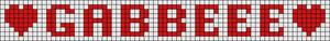 Alpha pattern #5775