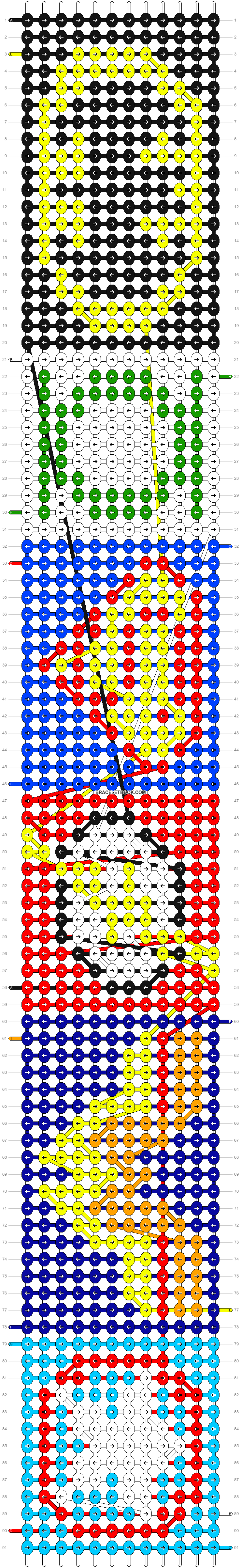 Alpha pattern #5776 pattern