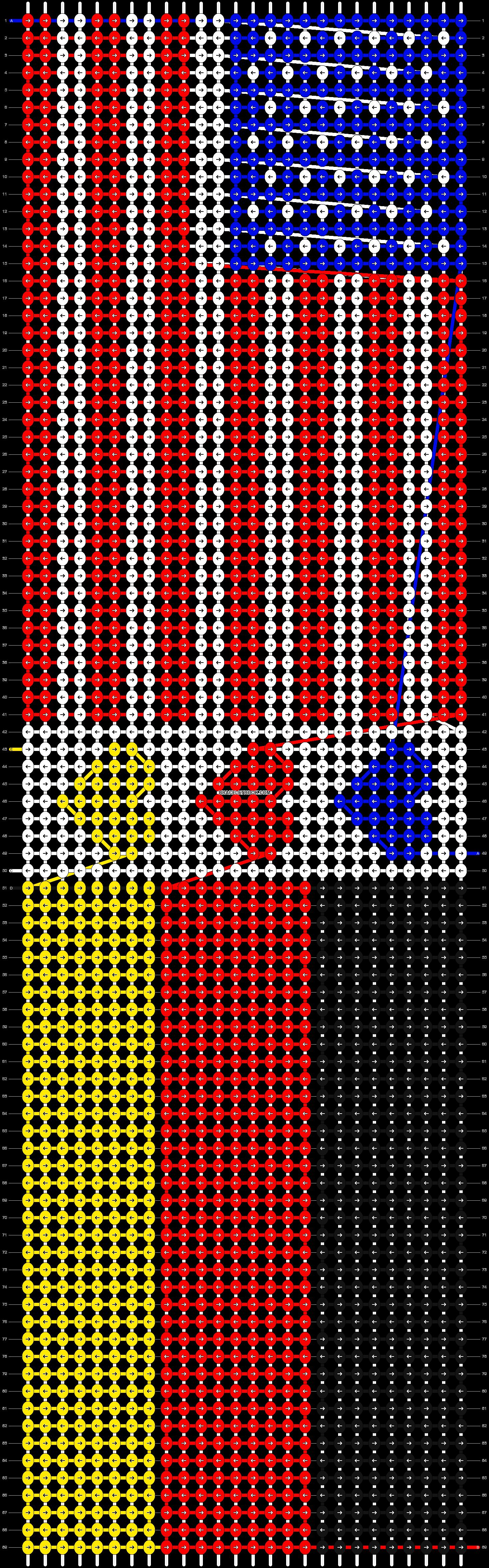 Alpha pattern #5777 pattern