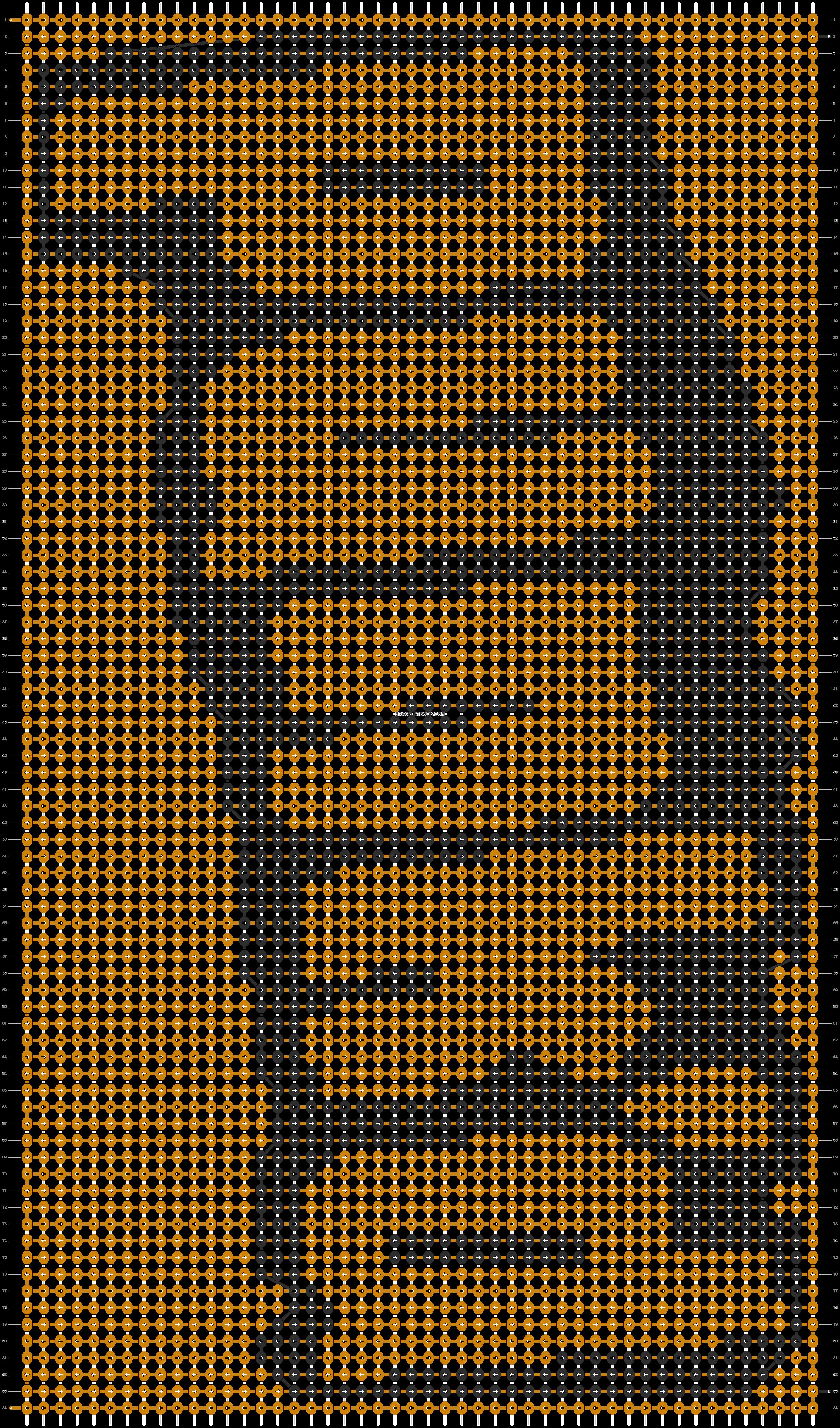 Alpha pattern #5780 pattern