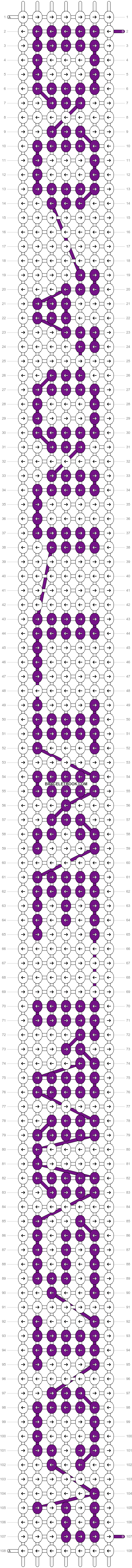 Alpha pattern #5789 pattern