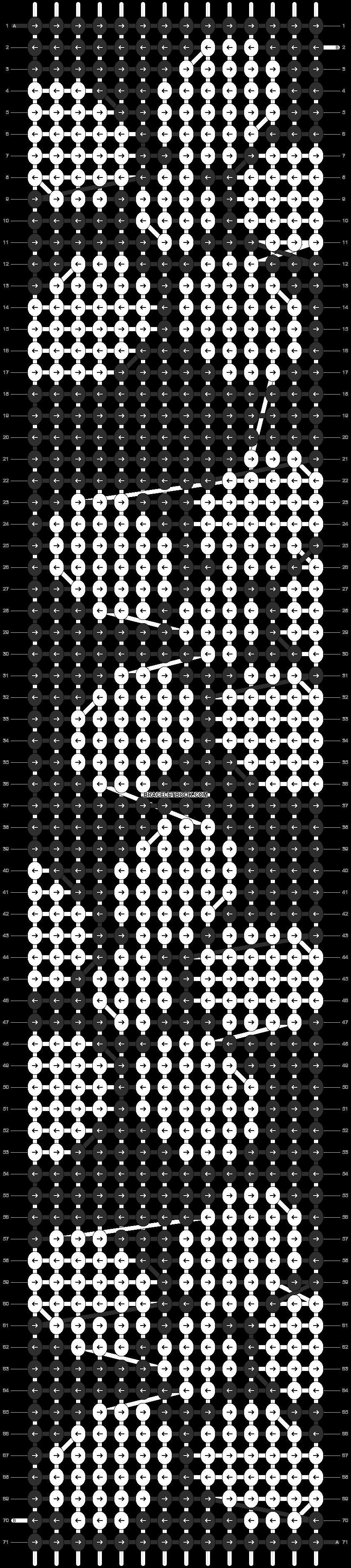 Alpha pattern #5790 pattern