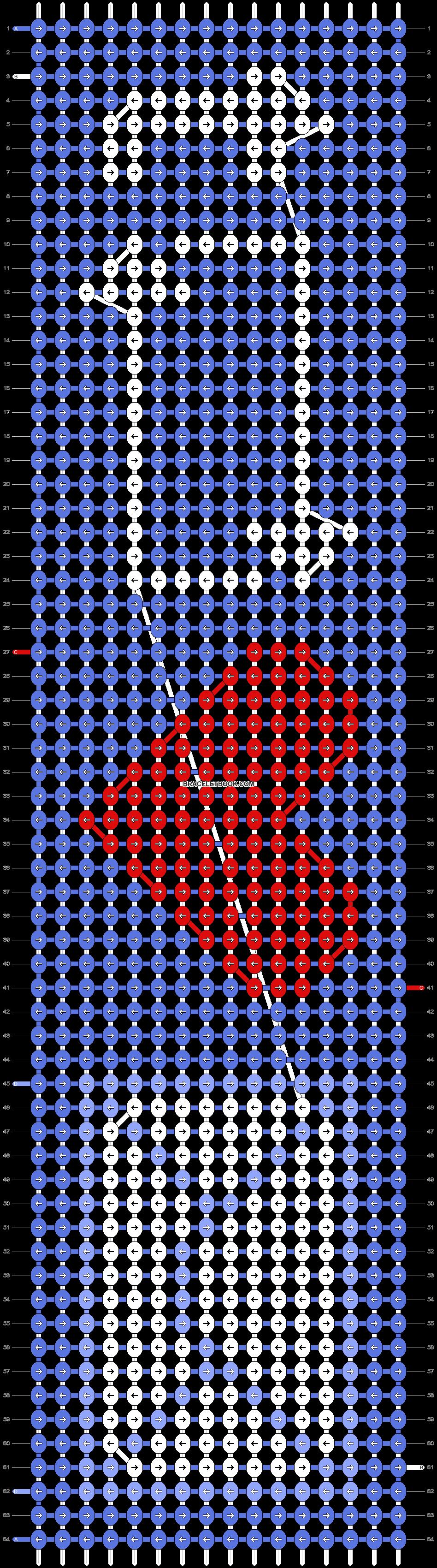 Alpha pattern #5794 pattern