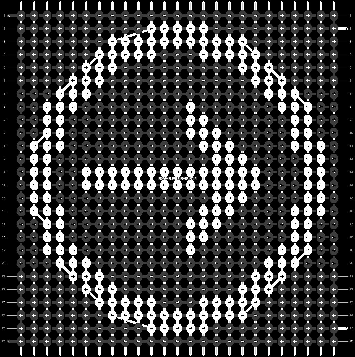 Alpha pattern #5797 pattern