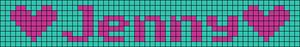Alpha pattern #5798