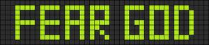 Alpha pattern #5811