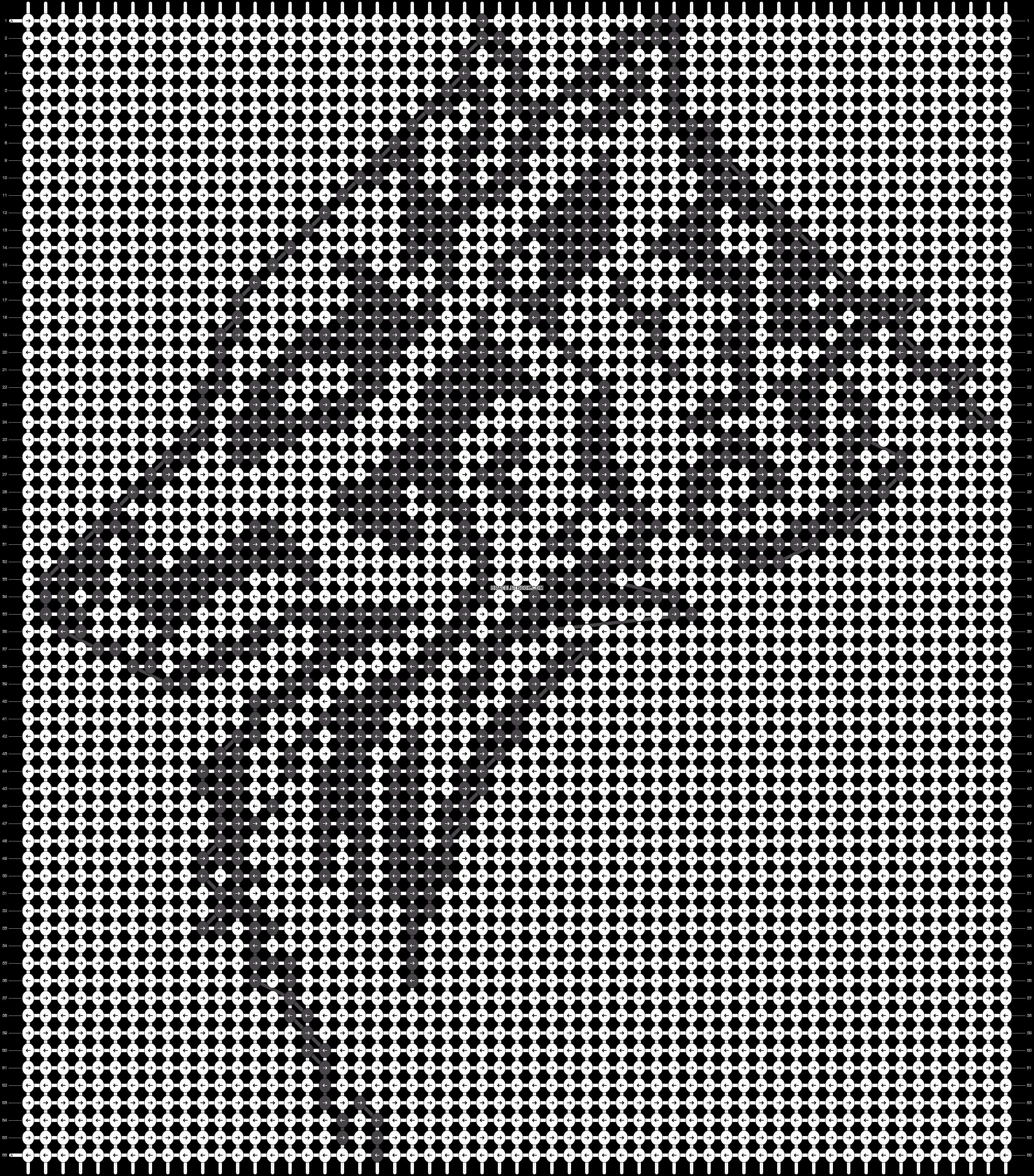 Alpha pattern #5812 pattern