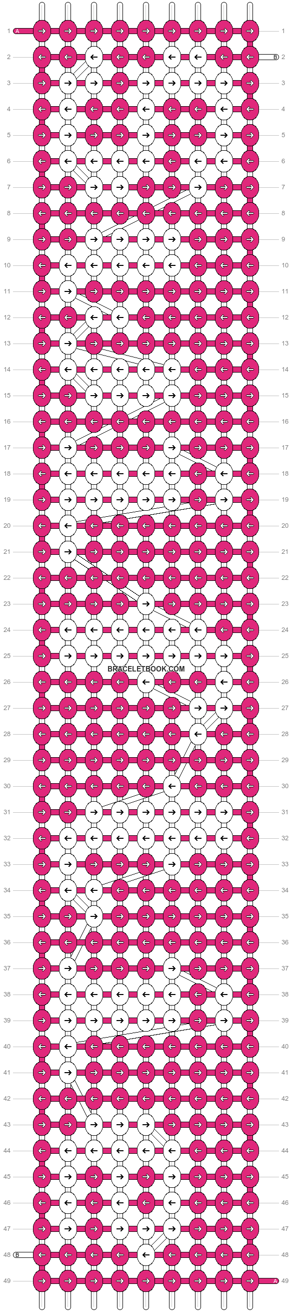 Alpha pattern #5817 pattern